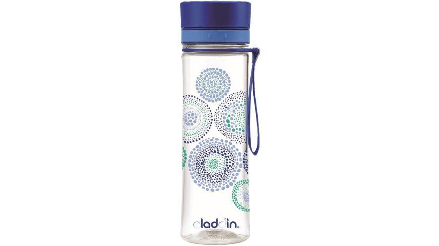 aladdin Trinkflasche Aveo Grafik blau 0 6l
