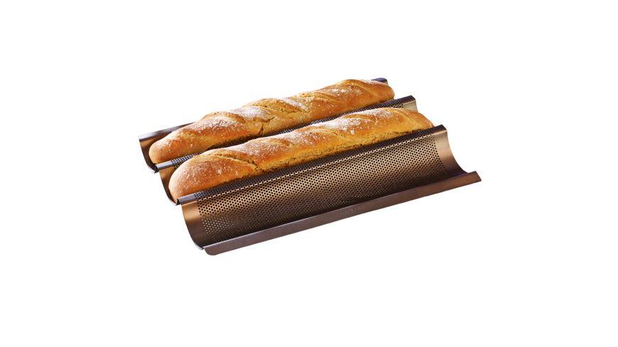 RBV BIRKMANN Mini Baguette Backblech Laib Seele