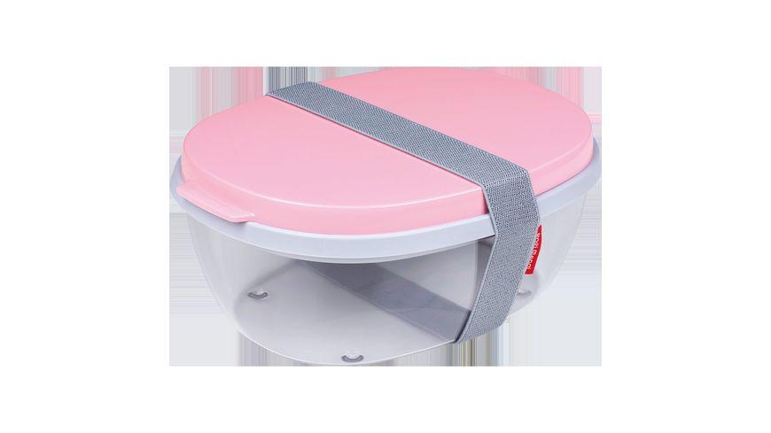Rosti Mepal Salatbox Ellipse Nordic Pink