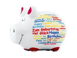 KCG Sparschwein Happy Birthday
