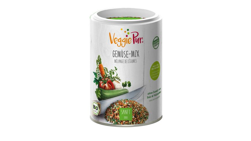 VeggiePur Gemuese Kraeuter Mischung Sanft