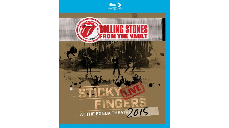 From The Vault Sticky Fingers Live 2015 Blu Ray