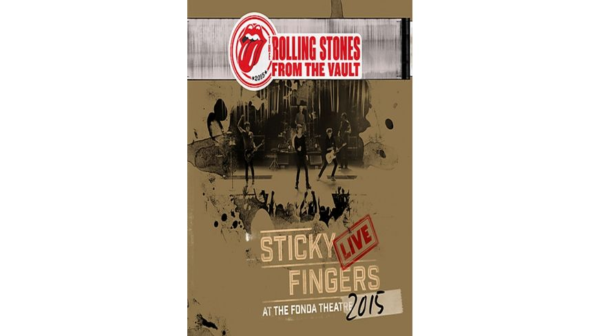 From The Vault Sticky Fingers Live 2015 DVD 3LP