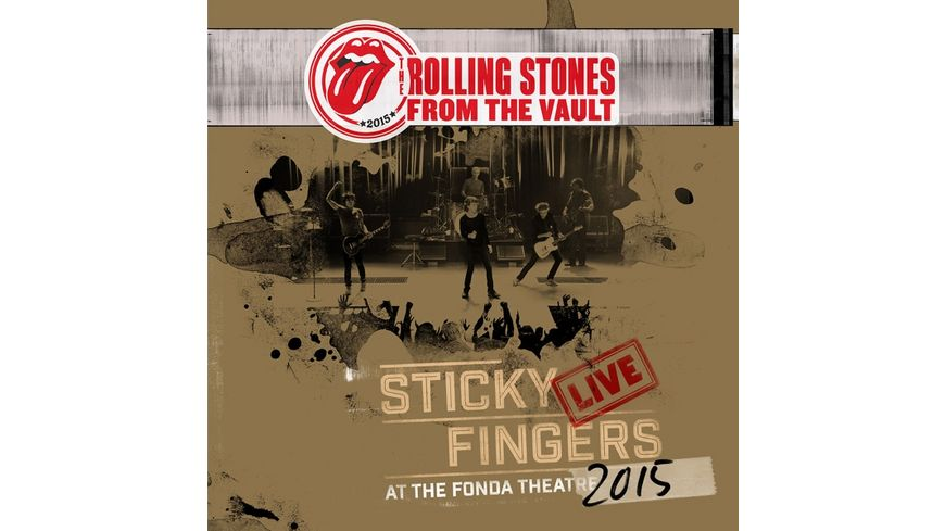 From The Vault Sticky Fingers Live 2015 DVD CD