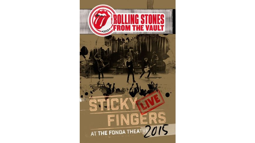 From The Vault Sticky Fingers Live 2015 DVD