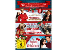 Die schoensten Weihnachtsgeschichten 3 DVDs