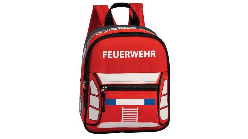BESTWAY Kinderrucksack Feuerwehr