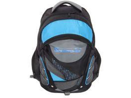 SPEAR Rucksack schwarz grau blau