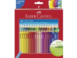 FABER CASTELL Farbstift Grip Colour 48er Etui Karton