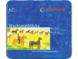 Stockmar Wachsmalbloecke 8 er Etui