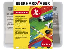 EBERHARD FABER Temperatuben Set 6 x 18 ml