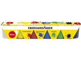 Eberhard Faber Temperafarben Set Basisfarbe 6er Pack