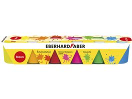 EBERHARD FABER Temperafarben Set Neonfarbe 6er Pack
