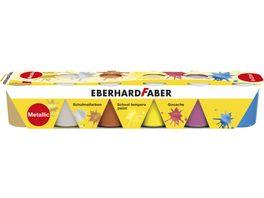 EBERHARD FABER Temperafarben Set Pearlfarbe 6er Pack