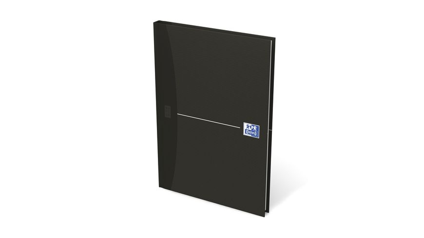 Oxford Notizbuch Office Smart Black A5 kariert