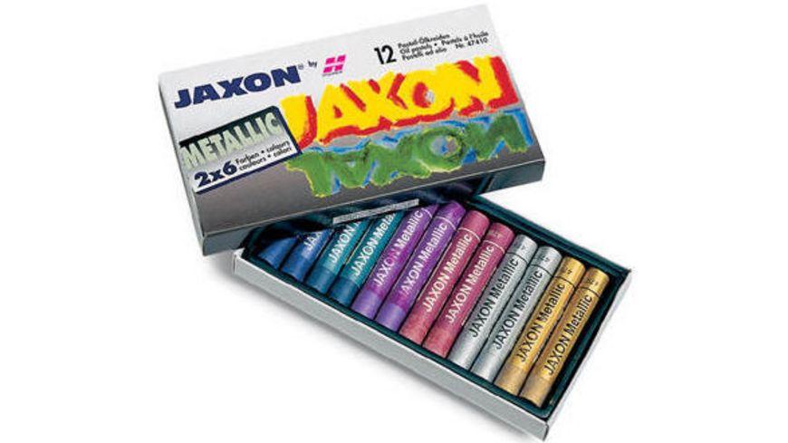 JAXON Ölpastellkreide 12er Set metallic