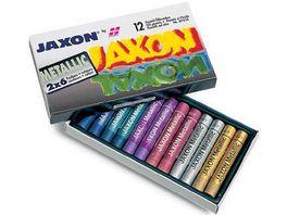 JAXON Oelpastellkreide 12er Set metallic