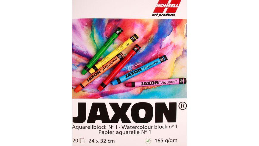 JAXON Aquarellblock 24x32cm