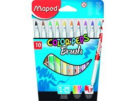 Maped Fasermaler Color Peps Brush 10er