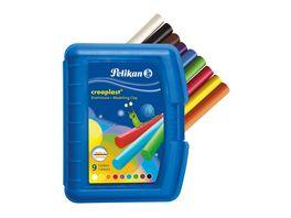 Pelikan Wachsknete Creaplast 9 Farben in blauer Box