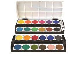 GEHA Deckfarbkasten 155 mit 24 Farben