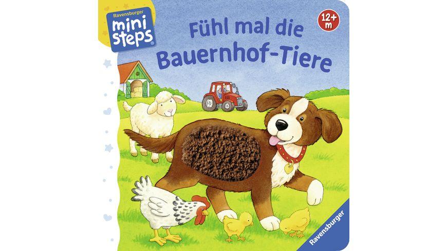 Ravensburger Fuehl mal die Bauernhof Tiere