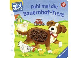 Buch Ravensburger Buch Fuehl mal die Bauernhof Tiere