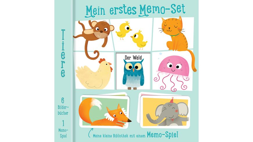 YoYo Books Mein erstes Memo Set Tiere