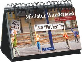 Buch GeraMond Verlag Tischaufsteller Miniatur Wunderland