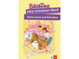 Buch Klett Lerntraining Bibi Tina Mein Schulstart Block