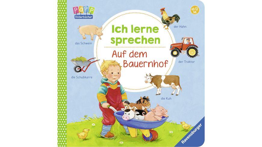 Ravensburger Ich lerne sprechen Auf dem Bauernhof