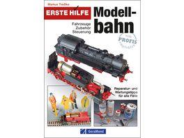 Buch Bruckmann Verlag Erste Hilfe Modellbahn