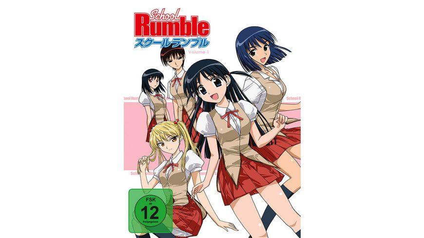 School Rumble Box 1 Episoden 1 13 3 DVDs