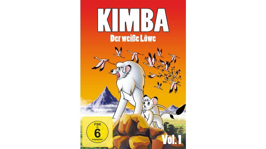 Kimba Der weisse Loewe Box 1 5 DVDs