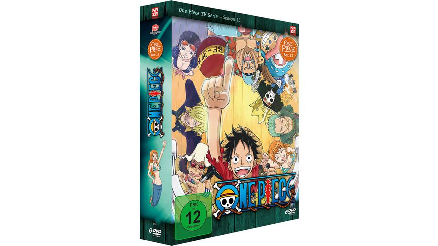One Piece TV Serie Box Vol 17 6 DVDs
