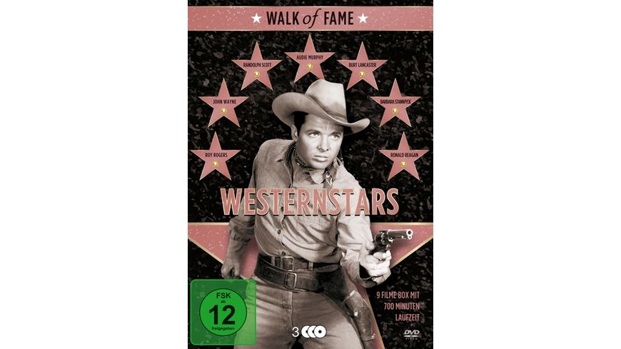 Walk of Fame Westernstars 1 3 DVDs