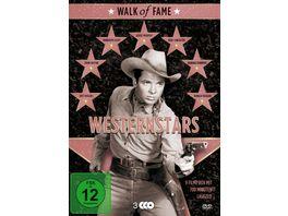 Walk of Fame Westernstars 1 3 DVDs