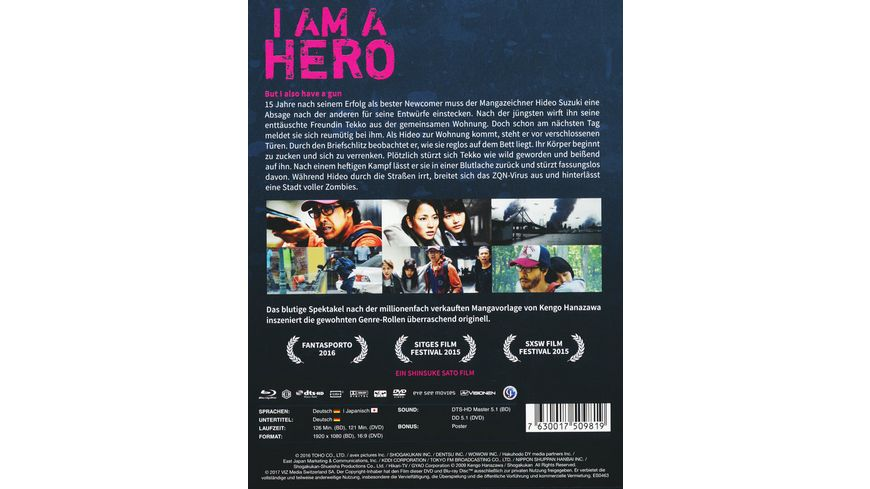 I am a Hero Steelbook DVD