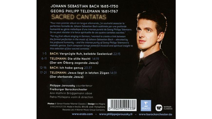 Bach Telemann Sacred Cantatas