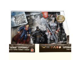 Mattel DC Justice League Batman Steppenwolf Superman 3 Pack