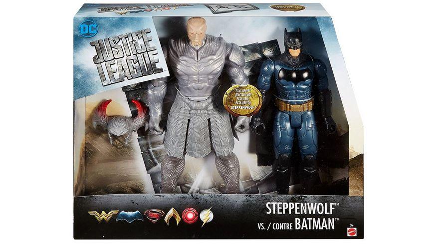 Mattel DC Justice League Steppenwolf vs Batman 2 Pack