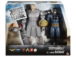Mattel DC Justice League Steppenwolf vs Batman 2 Pack