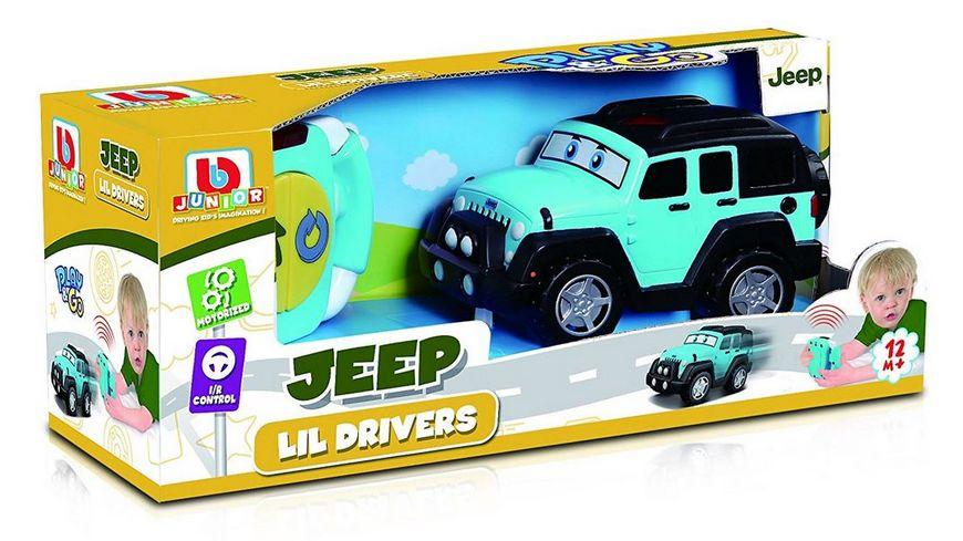 BB Junior Jeep Lil Driver Wrangler unlimited I R Control