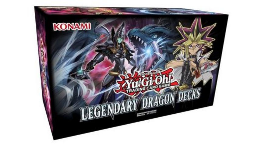 Yu Gi Oh Sammelkartenspiel Legendary Dragon Decks