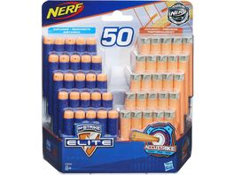 Hasbro Nerf N Strike Elite AccuStrike Dart Nachfuellpack 50er 25 Elite 25 AccuStrike
