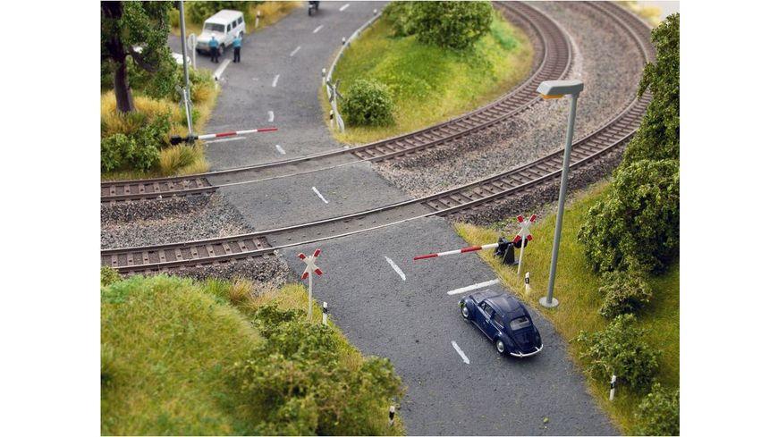 NOCH 14307 H0 H0 Bahnschranken mit Andreaskreuzen
