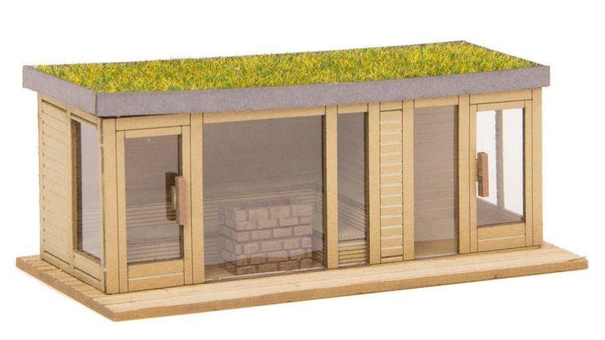 NOCH 14397 H0 Sauna mit Ausblick