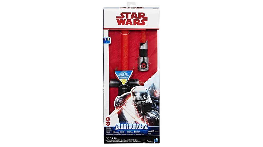 Bon Hasbro   Star Wars Episode 8 Kylo Ren Elektronisches Lichtschwert
