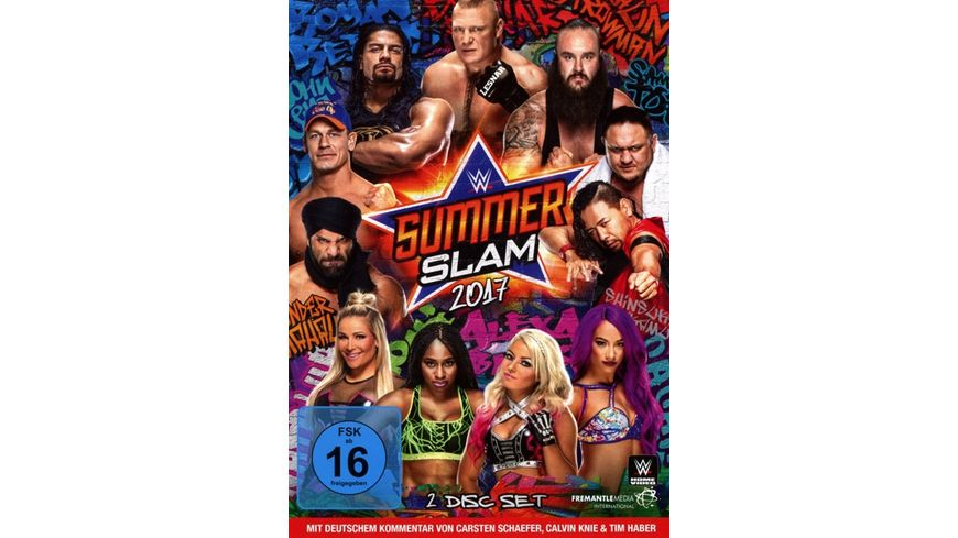 WWE SUMMERSLAM 2017 2 DVDs