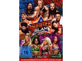 WWE SUMMERSLAM 2017 2 DVDs